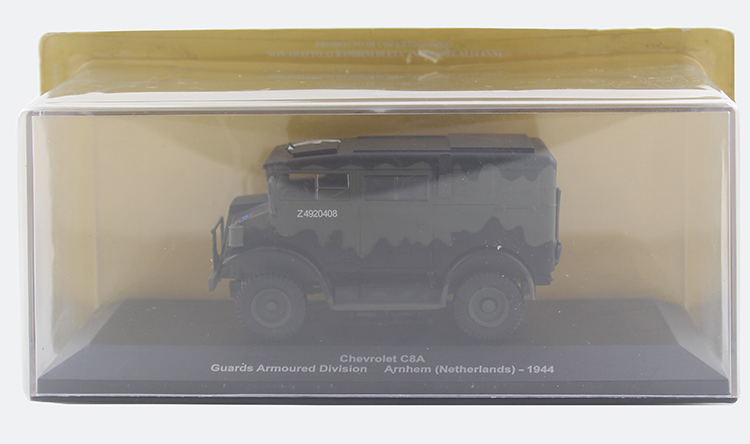 IXO 1/43 American C8A military vehicle model Alloy model Collection model Holiday gift cheverolet monza ixo chevrolet car 1 43 model