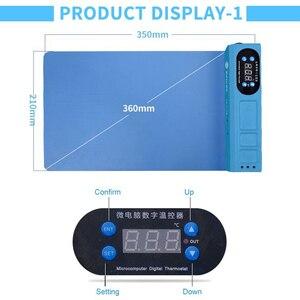 Image 3 - Nuove Uscite Schermo LCD Spearator Piastra di Riscaldamento Con Porta USB per IP iPad Macchina di Apertura Dello Schermo A CRISTALLI LIQUIDI Del Telefono Mobile