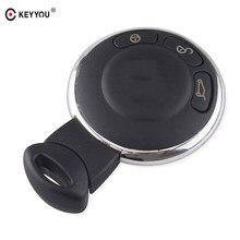 KEYYOU – carte-clé télécommande intelligente, 5x3 boutons, couvercle de clé de voiture, pour BMW Mini Cooper, remplacement de clé automatique