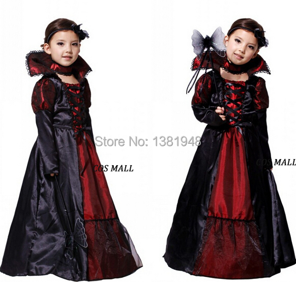 New-Kids-Halloween-Outfit-Childrens-Witch-Girl-Costume-V&ire-Zombie- Masquerade-Party-Queen-Cosplay-Uniform-Free.jpg  sc 1 st  Germanpascual.Com & Masquerade Costume For Kids u0026 NEW Cosutme Snow White Girls Party ...