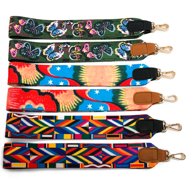 (4 Metal Colors) Wide 80cm, 125cm Replacement Shoulder Bag Strap DIY 5cm Colorful Straps for Purses Handbags Bags Belt yoga sprout комплект боди штанишки синий