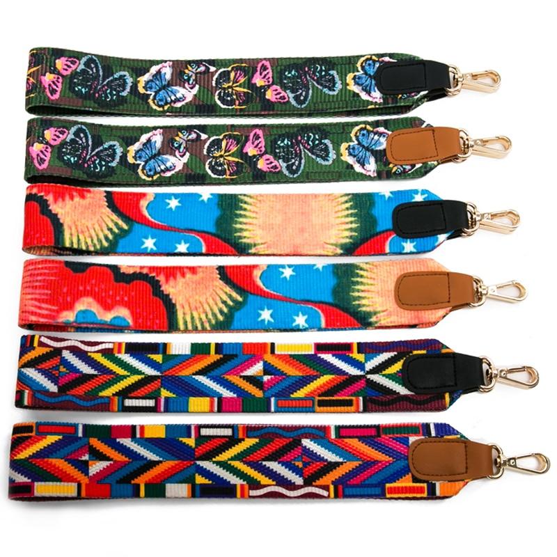 4 Metal Colors! Colorful Replacement 5cm Wide Bags Straps Belts Fashion DIY Adjustable  140cm Long Shoulder Strap ... a67044a0c7999