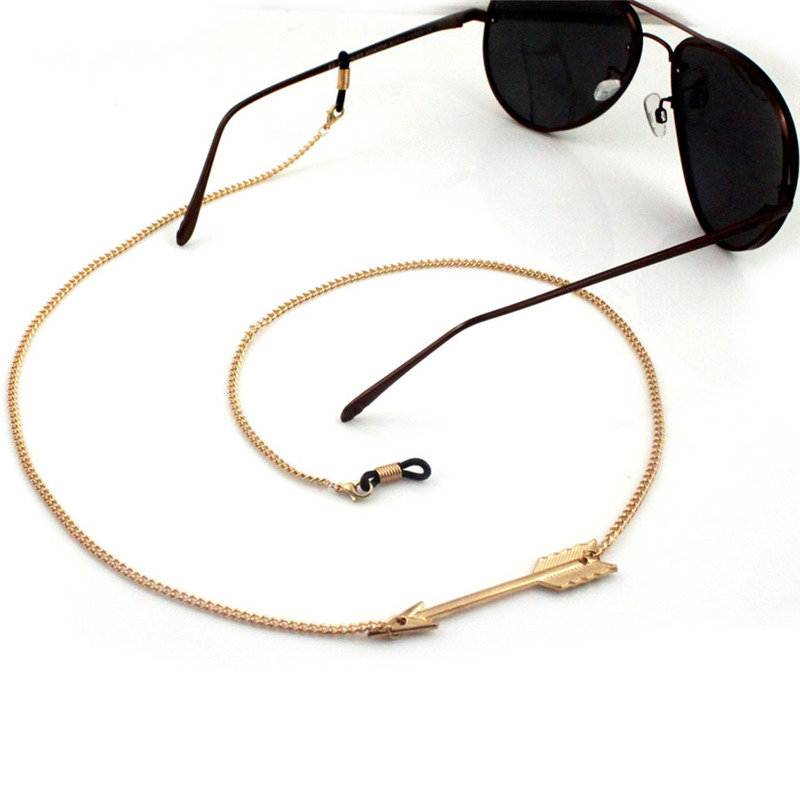 6ab75f136de IMIXLOT Women High Quality Alloy Arrow Eyeglass Chains Eyewear Cord Holder  Neck Strap Reading Glasses Accessories