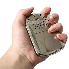 Карманные наборы удобный долговечный Сверхлегкий грелка для рук брендовый алюминиевый Портативный высокотеплый Карманный грелка для рук