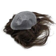 사용자 정의 만든 피부베이스 toupee 머리 길이 10 ~ 16 인치 여성 헤어 토퍼