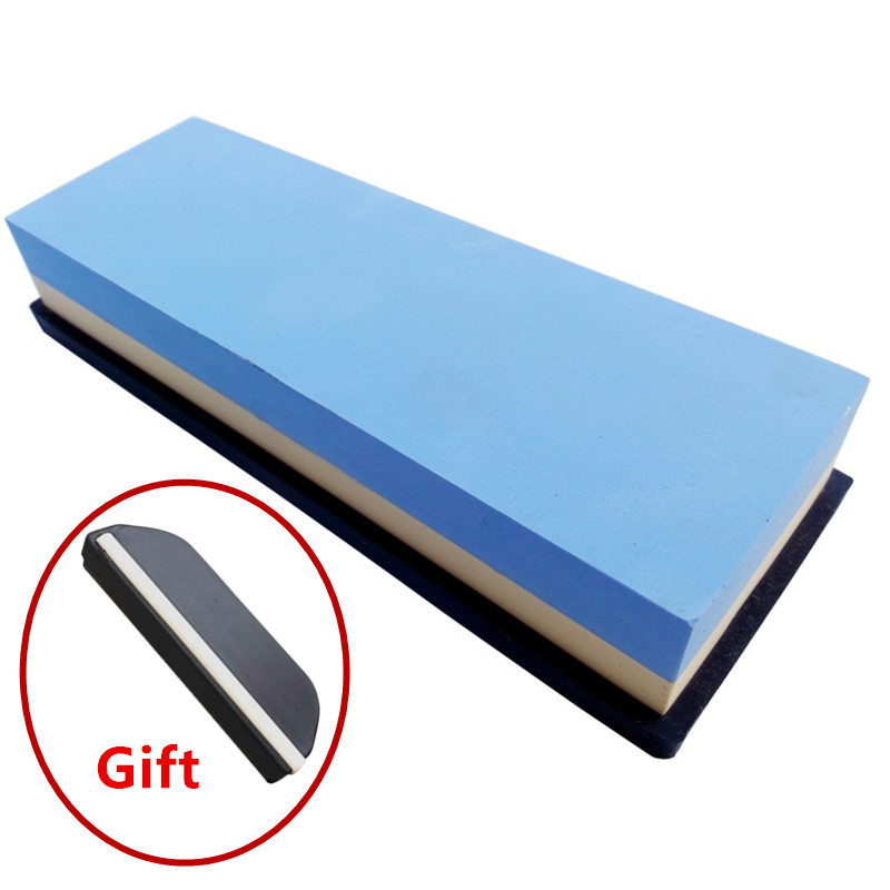 1pc DMD double side Water Stone Dual Whetstone font b Knife b font Sharpener Sharpening Flattening