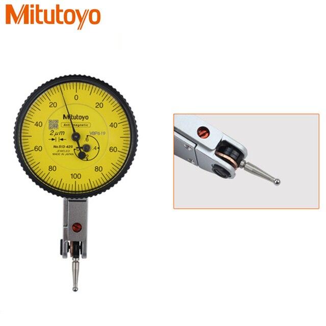 b2ae9bcd71f 100% Original Japão Mitutoyo 513-425E Relógio Comparador 0-0.6mm 0.002