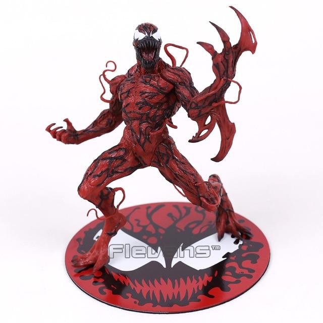 The Amazing SpiderMan Venom Carnificina ARTFX + ESTÁTUA 1/10 Escala Pré-Pintada Figura Modelo Kit 18 cm