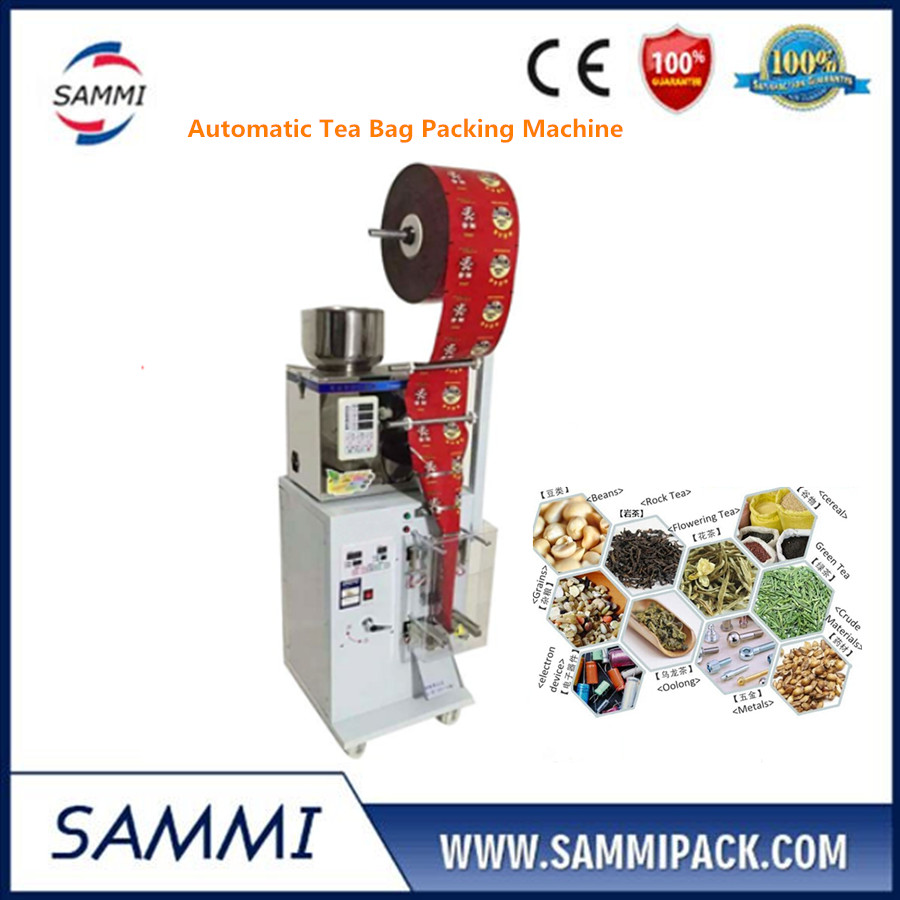 Bottom price 2-200g 3 side seal Automatic tea bag weighing and packing machine SMFZ-70 for tablet/nut/grain/powder