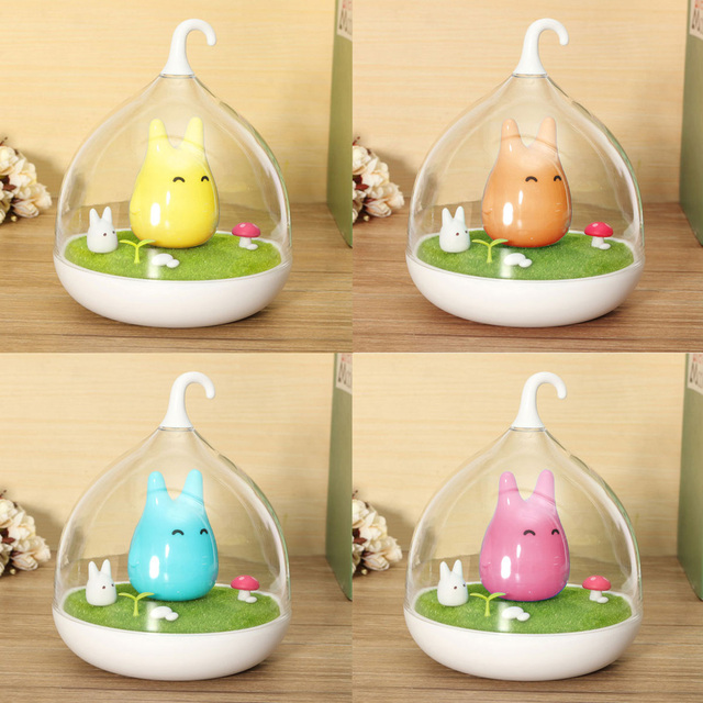 Hot Sale Cage Totoro Wall Lamp Indoor Portable Touch Sensor USB LED ...
