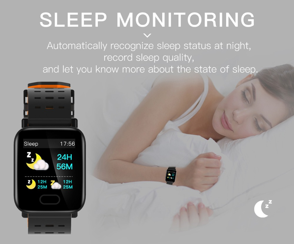 Q6 Smartwatch IP67 Waterproof Wearable Device Bluetooth Pedometer Heart Rate Monitor Color Display Smart Watch For AndroidIOS (11)