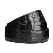 [ZMMYY] 2017 Fashion High Quality Genuine Leather men Pin Buckle Belt Vintage Casual Women Jeans Belt