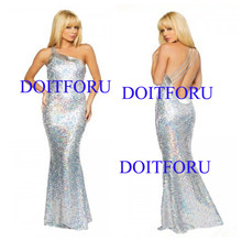 Sexy Robe De Soiree Mermaid Burgundry Long Evening Dress Party Elegant Vestido De Festa Long Prom Gown stage wear