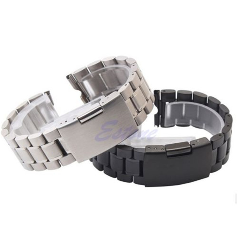 1 PC 22mm Stainless Steel Watch Band Strap For Moto Motorola 360 Smart Watch + Tools for motorola moto 360 2nd band 42mm stainless steel milanese loop bracelet for moto 360 strap black silver