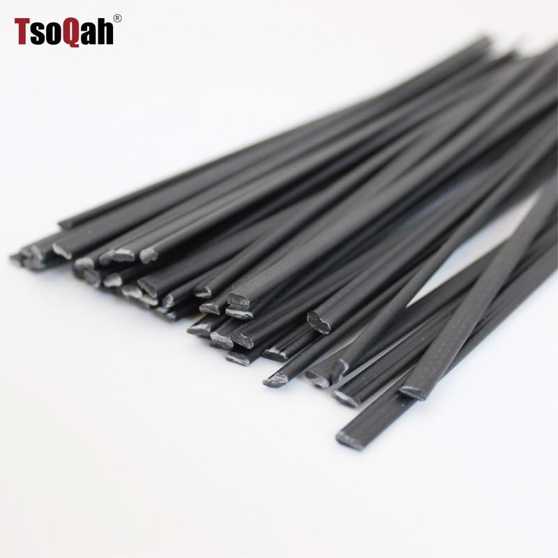 Black PP Plastic Welding Rods Electrodes For Hot Air Welder Gun Auto Car Bumper Repair Tools Sticks Floor Soldering