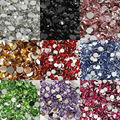5000pcs 5mm Many Pretty fascinating Colors Acrylic Rhinestone Flatback  Nail Clear Gems Decorative Nail DIY
