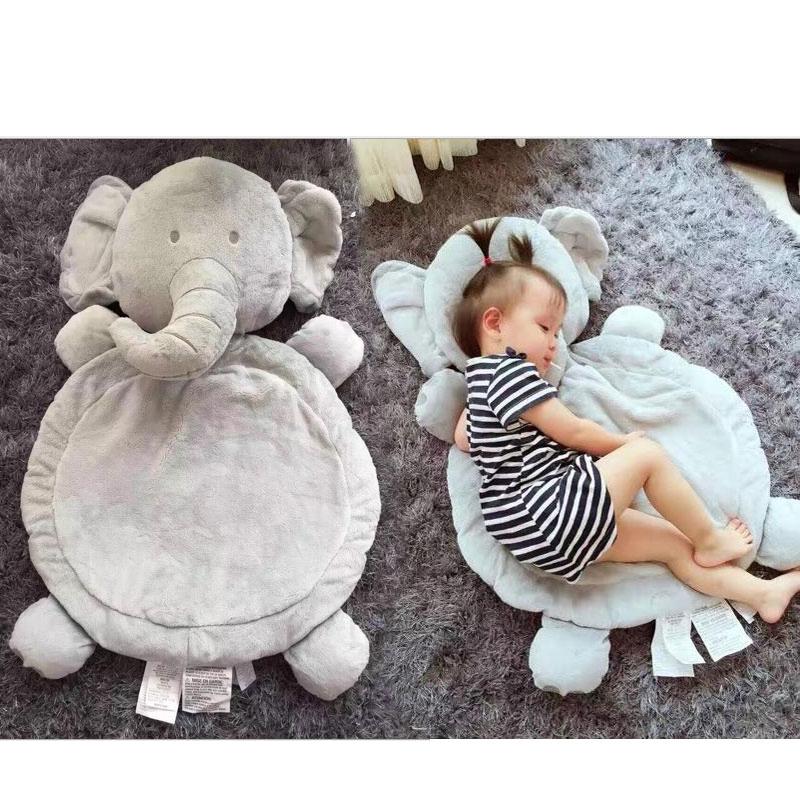 Hot Kawaii Baby Sleeping Mat Stuffed Plush Animals Cushion Mattress Elephant/Lamb/Fox Kids Children Crawling Pad Playmat беcпроводной маршрутизатор tp link tl wr940n 450m