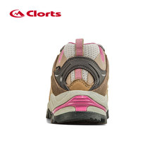 Clorts Women Hiking Shoes Low-cut Sport Camping Shoes Breathable Hiking Boots Athletic Outdoor Shoes for Women HKL-815C
