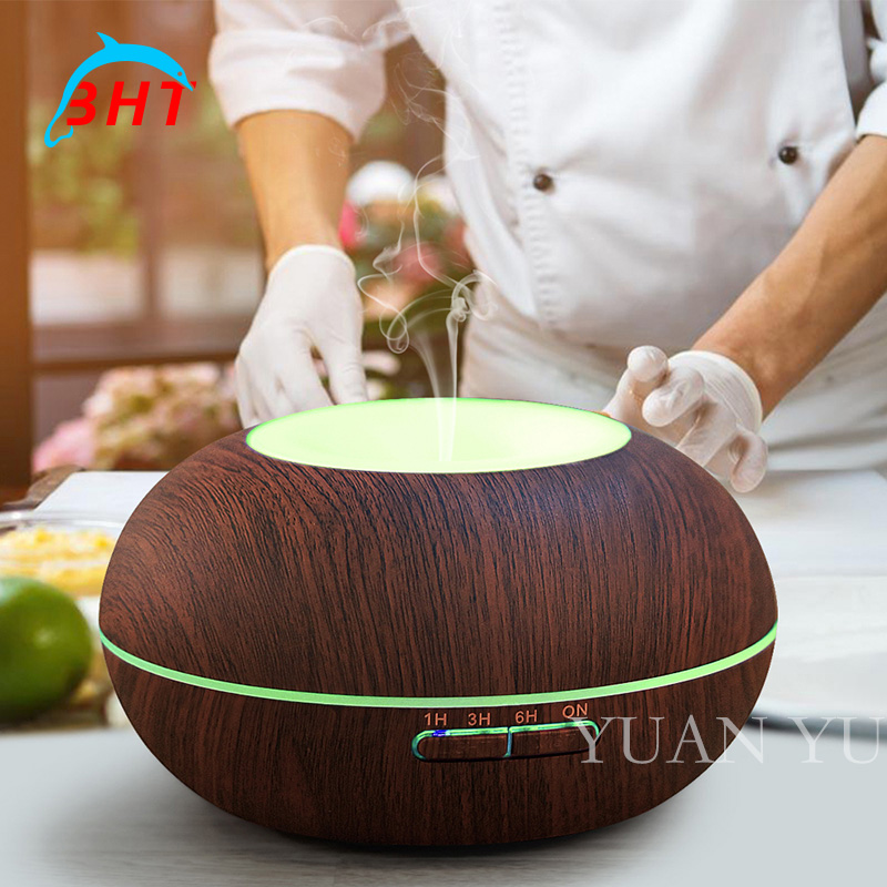 ФОТО 2017 300ml Essential Oil Diffuser  Led Light Mist Maker Ultrasonic Aroma Cool Mist Humidifier for Office Bedroom Baby Room