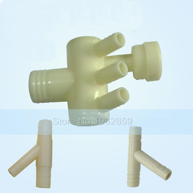 valvula dental dreno forma adaptador drenagem para baixo da tubulacao dental cadeira tratamento maquina pecas tres