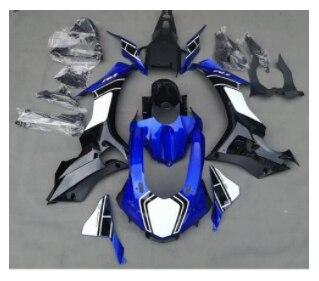 Kit complet de carénage de moto pour Yamaha YZF1000 R1 année 2015-2016 15 16 ABS Injection plastique jaune bleu couvercle peint
