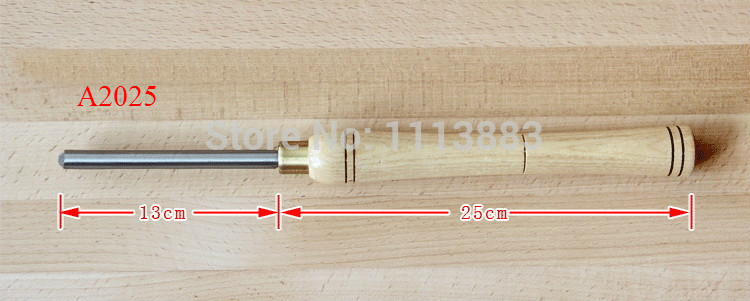 A2025 HSS outil de tournage du bois