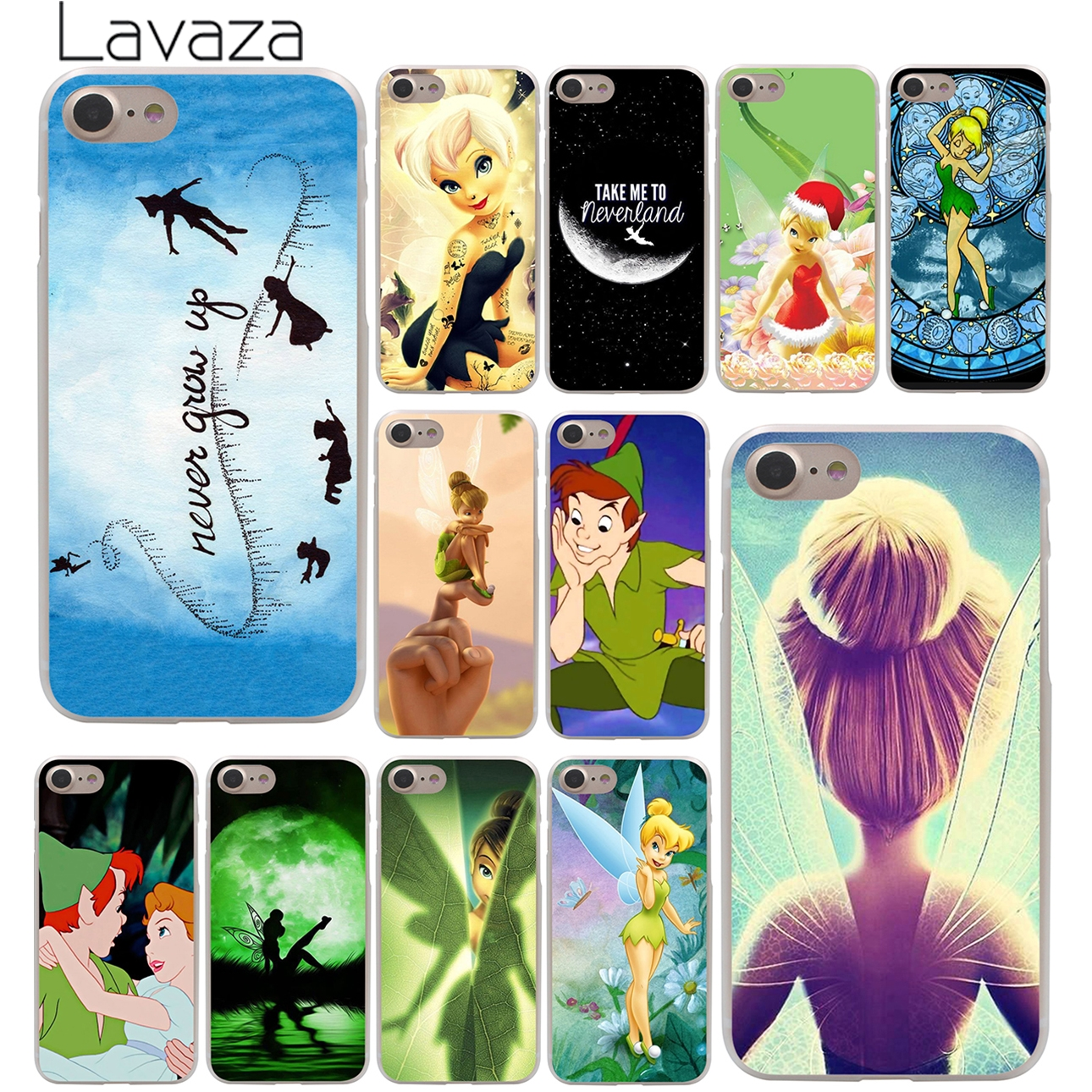 Lavaza Peter Pan Wendy Tinkerbell Tinker bell Phone Cover