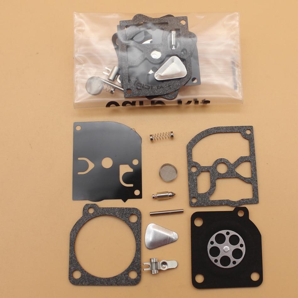2Pcs/lot Carburetor Repair Kit Fit HUSQVARNA 40 45 49 55 H55 H51 55 240 245 240R 245R Partner Jonsered Trimmer Chainsaw Parts