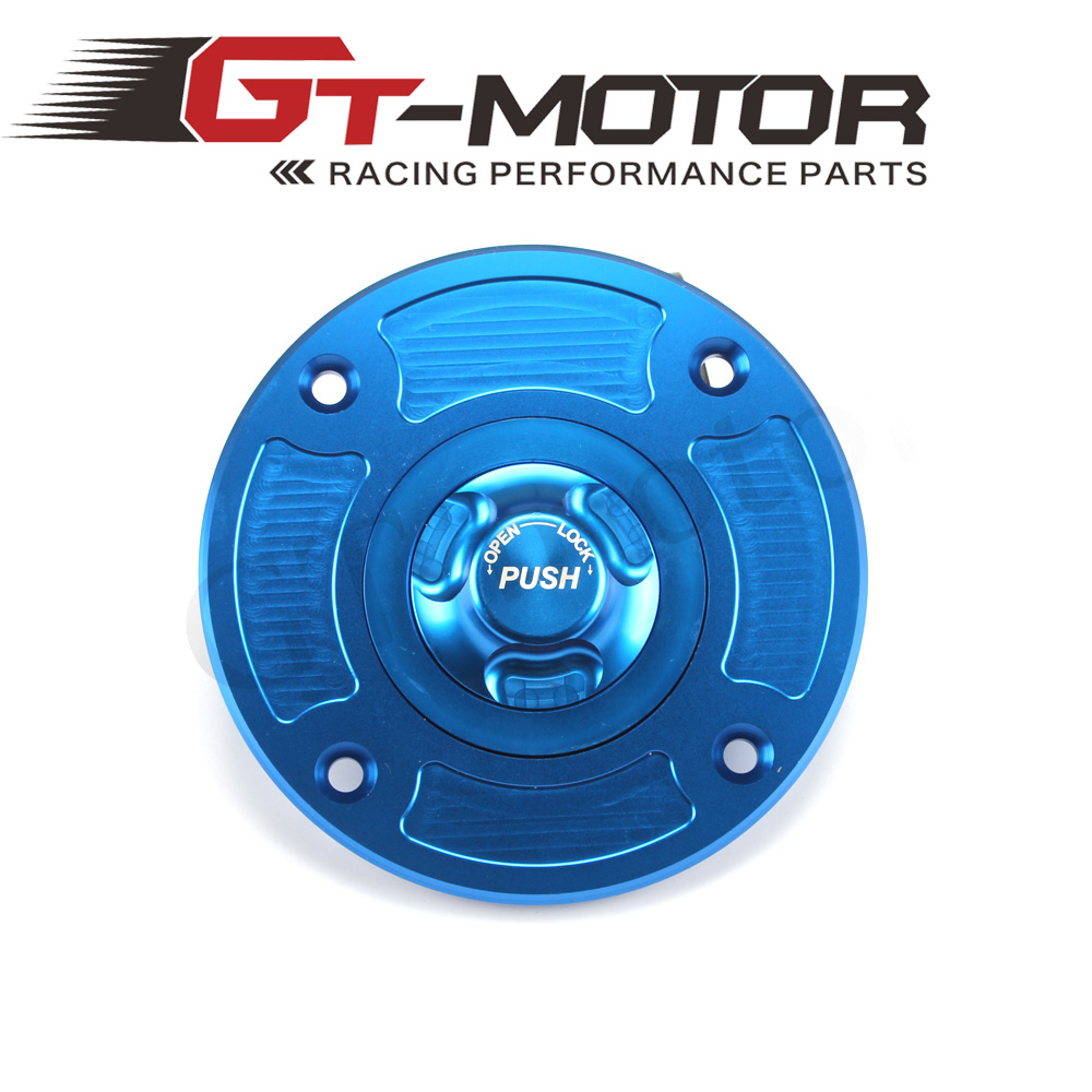 GT Motor - Motorcycle New CNC Aluminum Fuel Gas CAPS Tank Cap tanks Cover With Rapid Locking For SUZUKI GSX600F GS600F TL1000S/R gt motor motorcycle new cnc aluminum fuel gas caps tank cap tanks cover with rapid locking for suzuki gsf 650 1250 s bandit