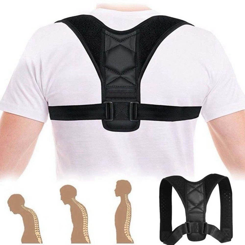 Round Shoulders Posture Corrector Belt