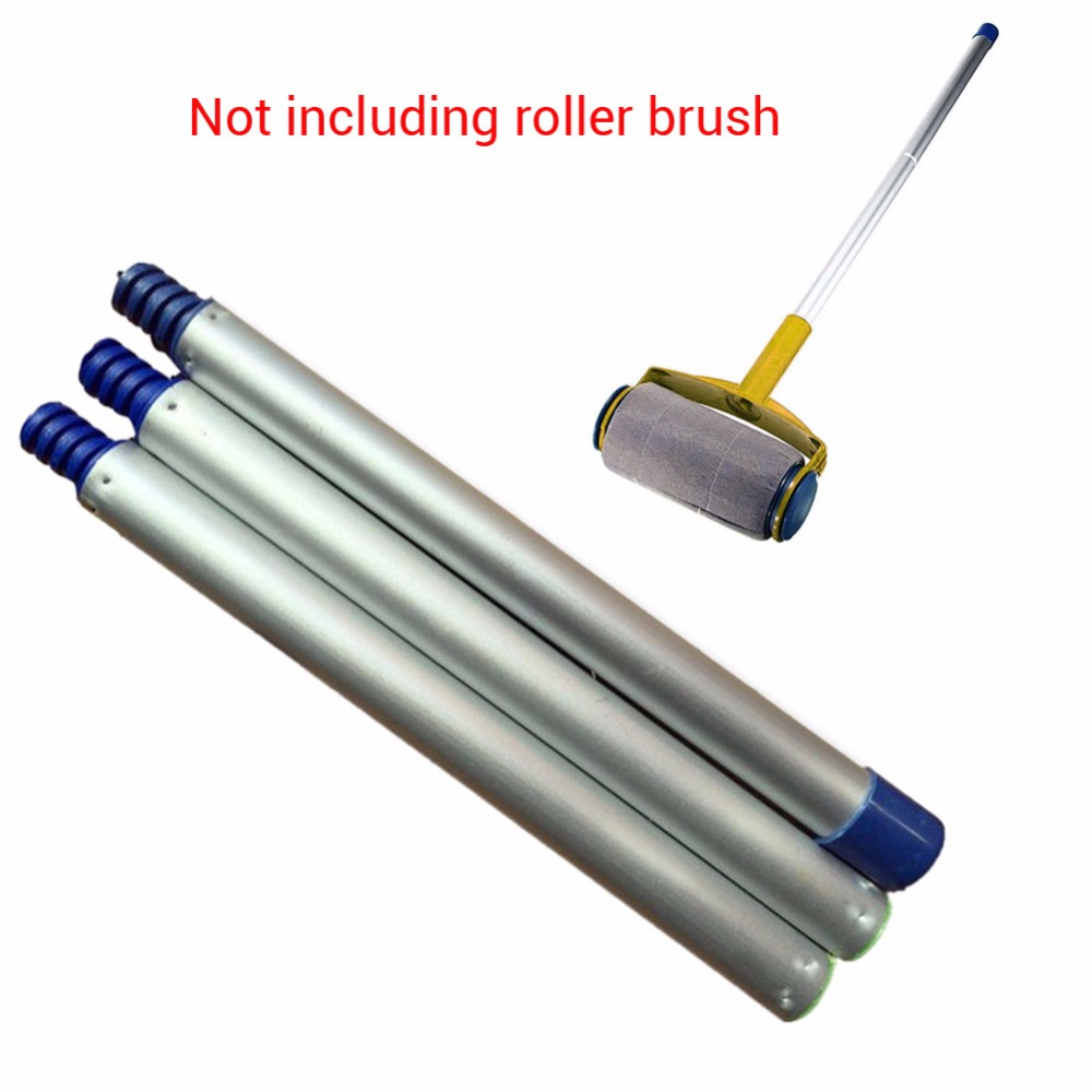 3pcs/lot Decorative Paint Roller and Tray Set Paint Pad Pro Painting Brush Point Paint Sticks DIY Decorating Wall Tool