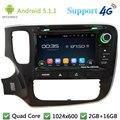 "Quad Core 8 ""1024*600 Android 5.1.1 Автомобильный DVD Video Player Радио Стерео FM DAB + 3 Г/4 Г WI-FI GPS Для Mitsubishi Outlander 2015"