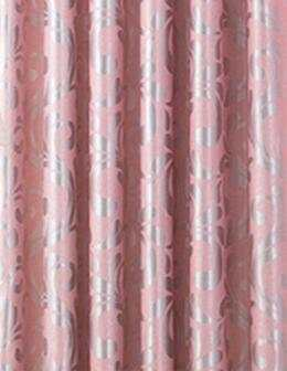 Simple Europe Jacquard Blackout Curtains Gold Pink Gray For Living