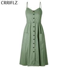 e8dfbb09b91 New Boho Off-shoulder Party Beach Sundress Spaghetti Long Dresses Plus Size  Summer Women Button