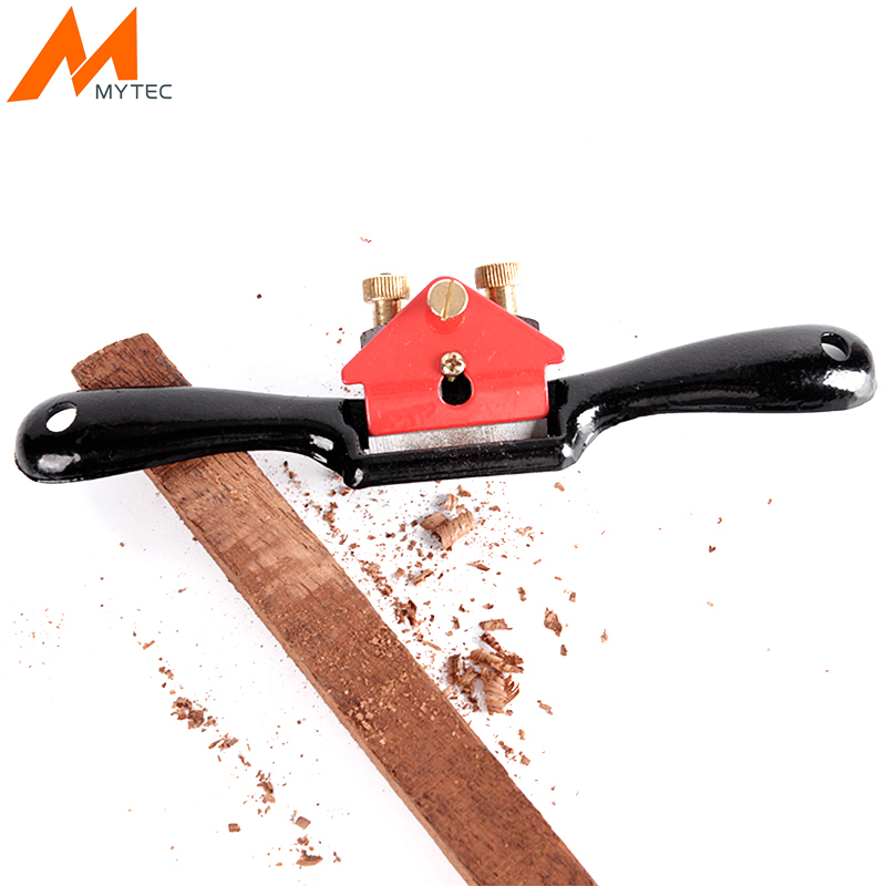 "MYTEC Adjustable Woodworking Hand Planer 9""/215mm Screw Planer Shave Wood Cutting Edge For Carpenter Manual Hand Tools"