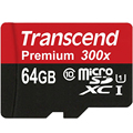 High Speed Original Transcend 16GB 32GB 64GB MicroSD MicroSDHC MicroSDXC Micro SD SDHC SDXC Card class 10 UHS-1 TF Memory Card