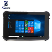 2017 Original K82H industrial Tablet PC Rugged Windows 10 pro Waterproof Shockproof 8 Screen USB 4G Lte Barcode Scanner GPS OTG