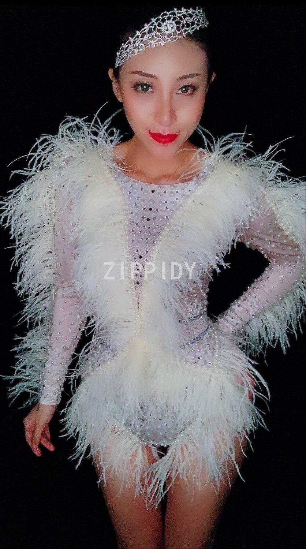 Cantante Brillante Dj Cristales Discoteca Plata La De Flecos White Cumpleaños Perlas Bodies Mostrar Mujer Celebrar Mono g7rgaw