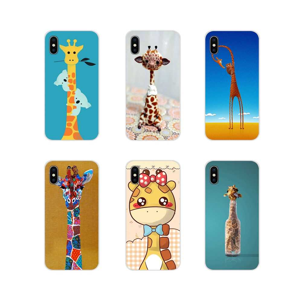 Аксессуары чехол для телефона Xiaomi Mi6 A1 5X 6X Redmi Note 5 5A 4X 4A 4 3 Plus Pro pocophone F1 животное жираф