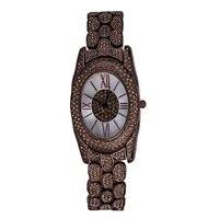 2018 новые модные женские туфли Часы Элитный бренд Уникальные женские наручные часы кварцевые водонепроницаемость Diamond Часы Для женщин Montre