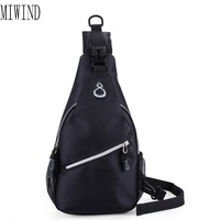 MIWIND Brand Oxford Me Sling Bag Mens Messenger Bags CrossBody Bags Sling Knapsack Canvas Rucksack TSL685