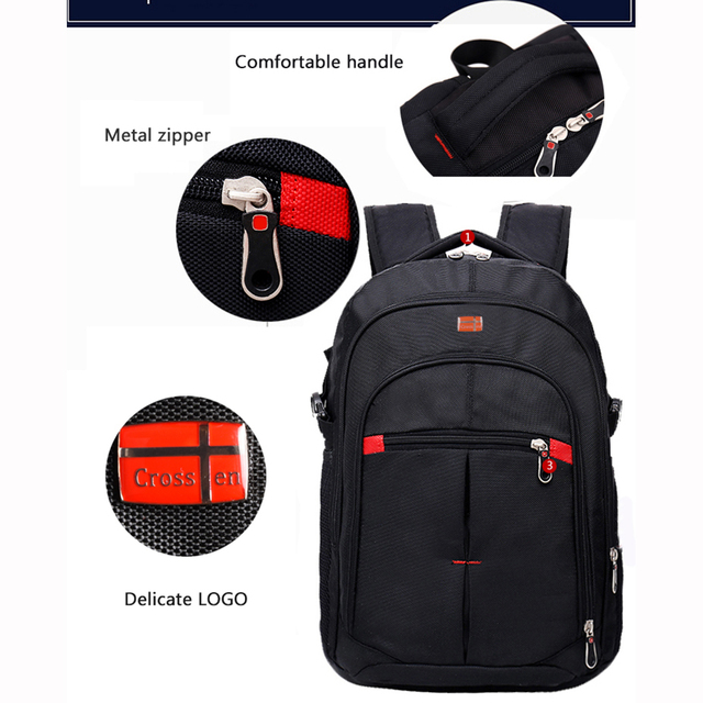 Crossten versatile Swiss Travel Bags Laptop Backpack 15.6 3