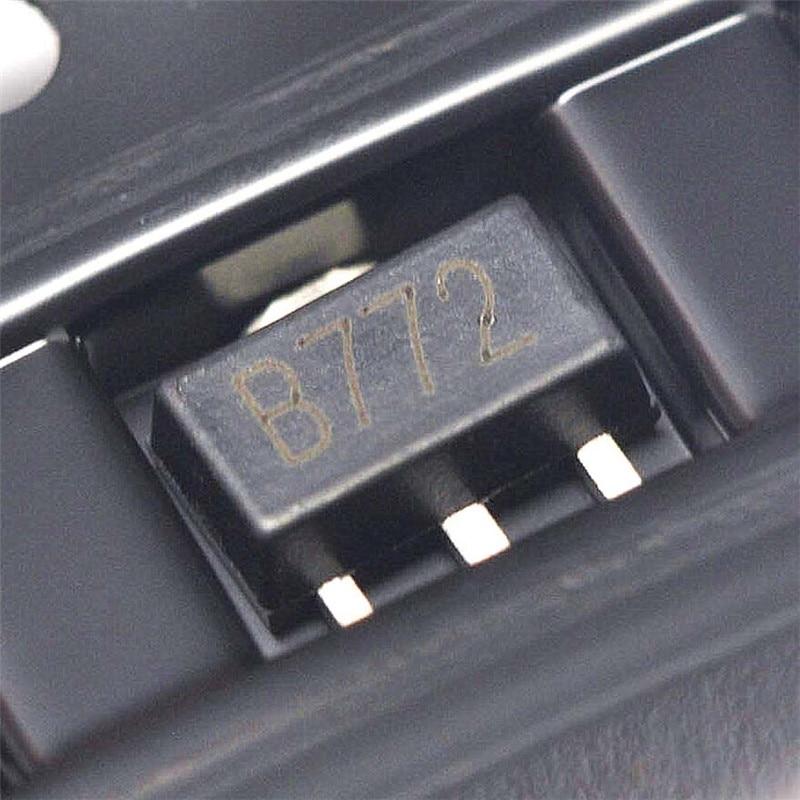 20pcs/lot 2SB772 B772 SMD SOT-89 PNP MEDIUM TRANSISTOR new and original In Stock