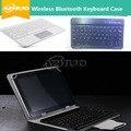 Caja del teclado inalámbrico bluetooth para samsung galaxy tab a 8.0 t350/t351/t355/t355c 8 pulgadas tablet + free