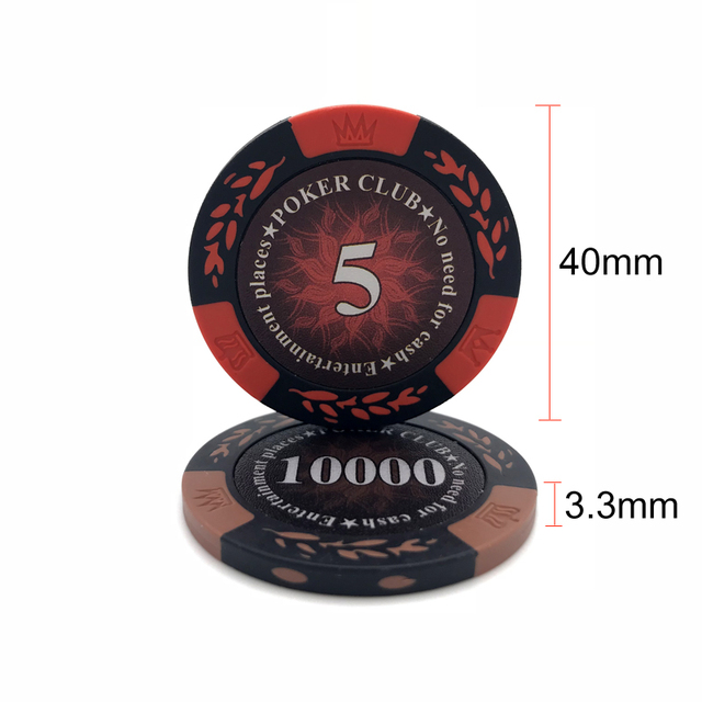 Double Color Poker Chips Set