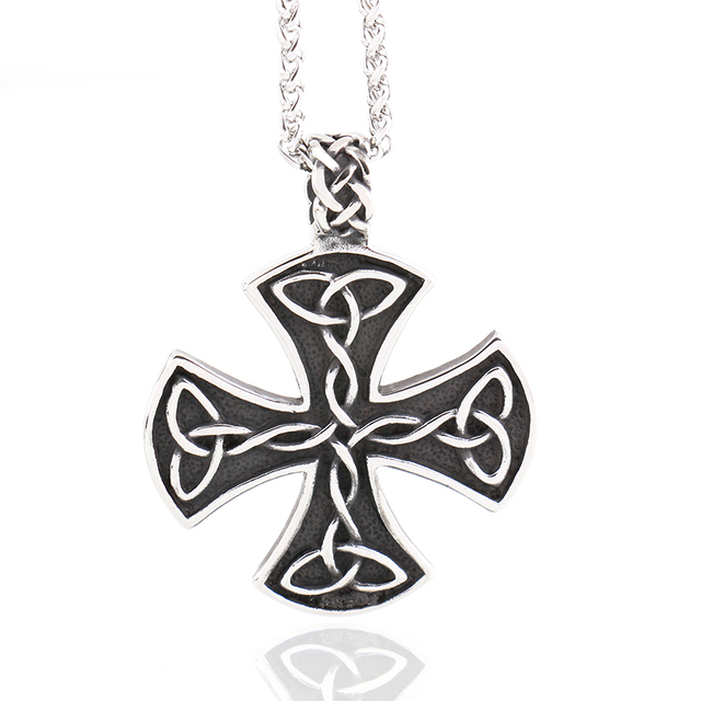 Fashion jewelry mens necklace stainless steel vintage maltese iron fashion jewelry mens necklace stainless steel vintage maltese iron cross pendant necklace knights templar cross fashion aloadofball Image collections