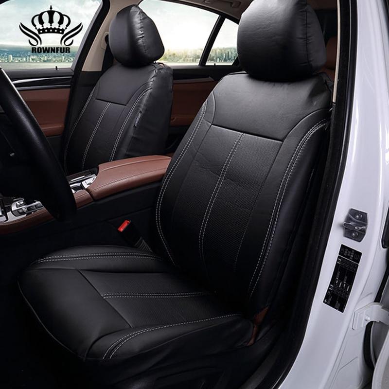 Nouveau Luxe PU En Cuir Auto Universel Siège De Voiture Couvre siège de voiture Automobile pour la couverture de voiture lifan x60 pour voiture lada vesta granta