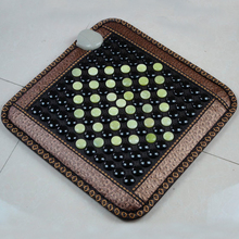 Best Quality! Natural Tourmaline Mat Jade Heat Physical Therapy Pad Office Pad With Heat AC220V Free Shipping