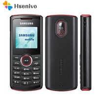 E2120 100% Original Entsperrt Samsung Guru E2120C GSM One Sim Karte FM FM Radio Handy Freies Verschiffen
