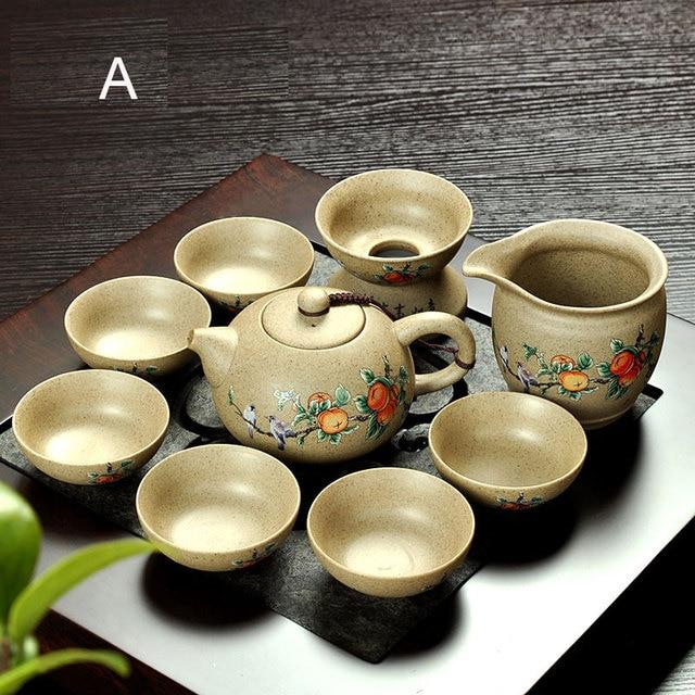 Coarse Pottery Old Rock Mud Creative Japanese Tea Ceremony